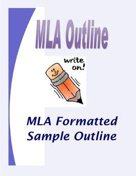 Mla paper writing format